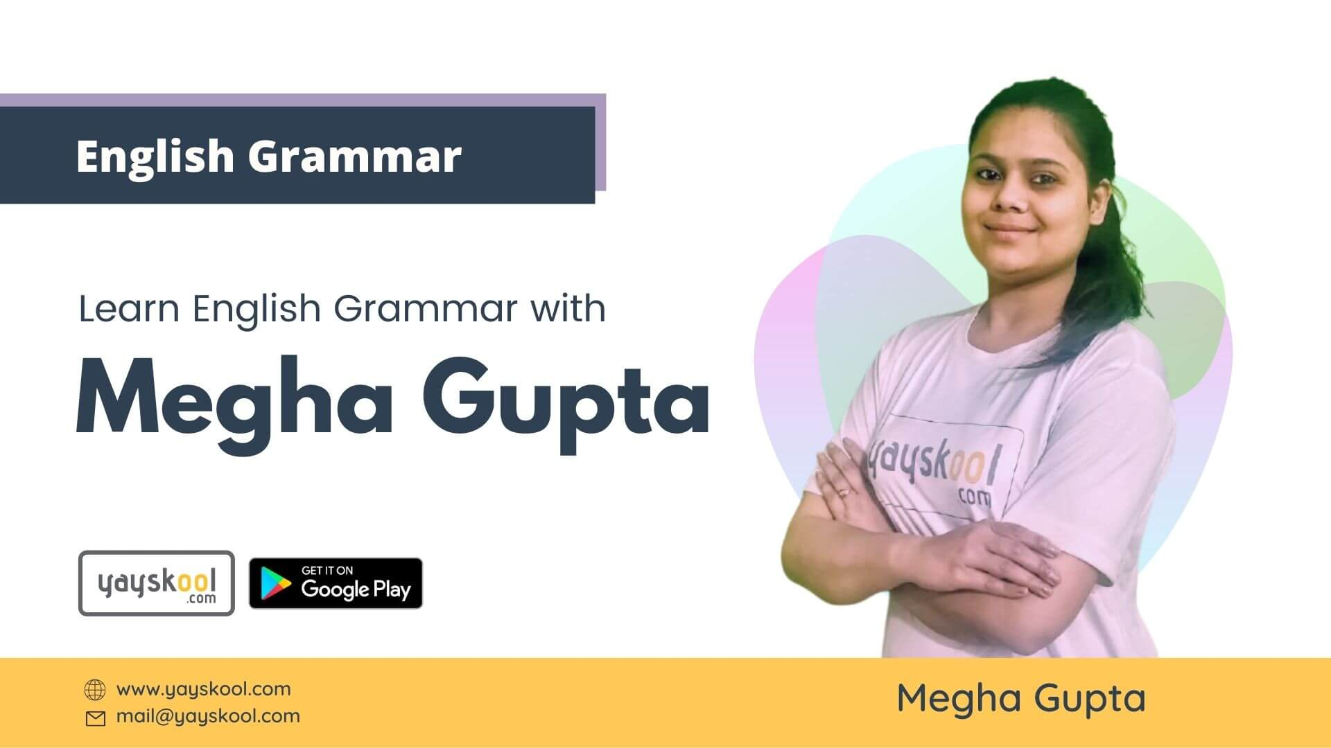Learn English Grammar with Megha Gupta