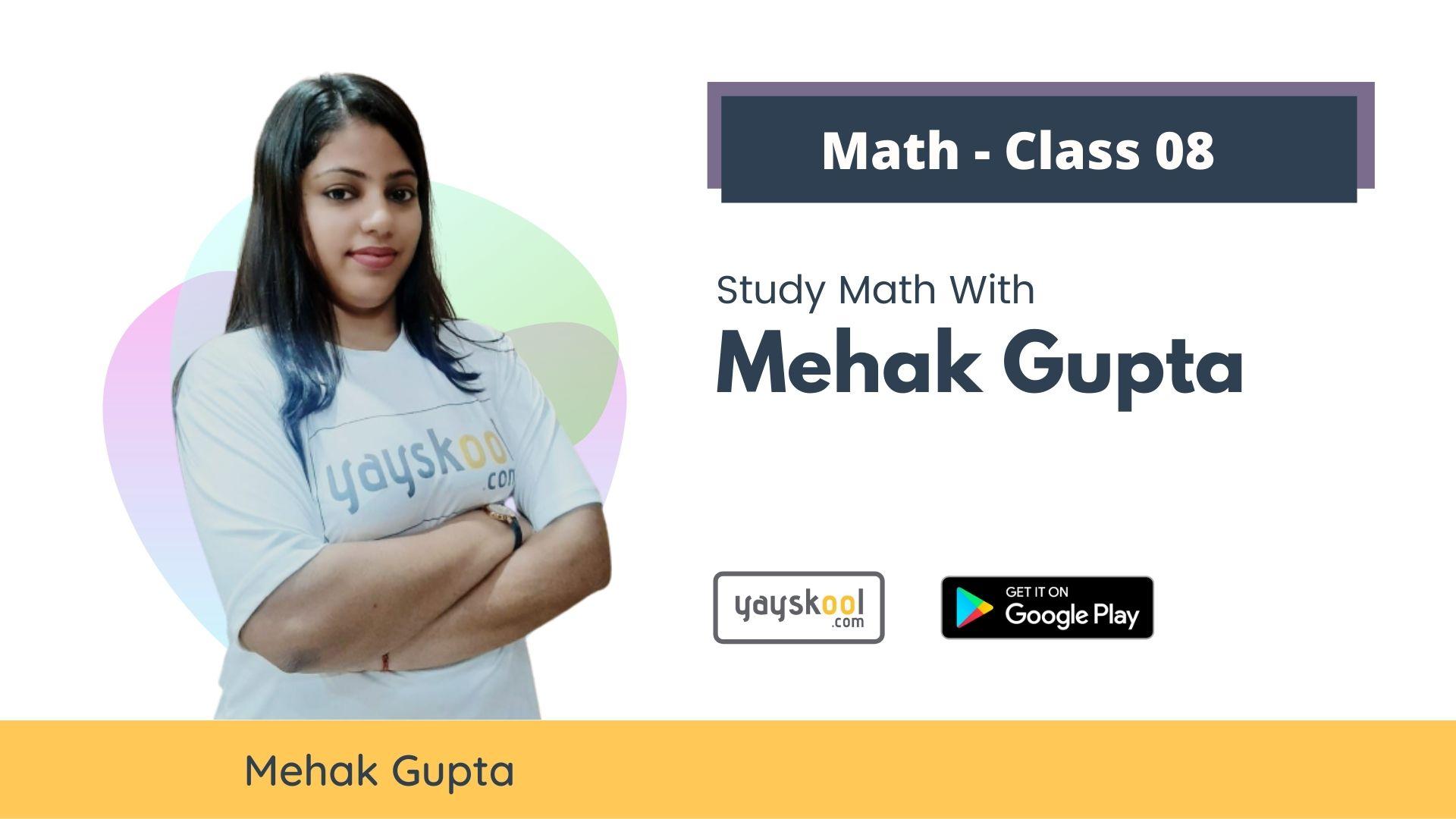 maths-course-class08-mehak-gupta