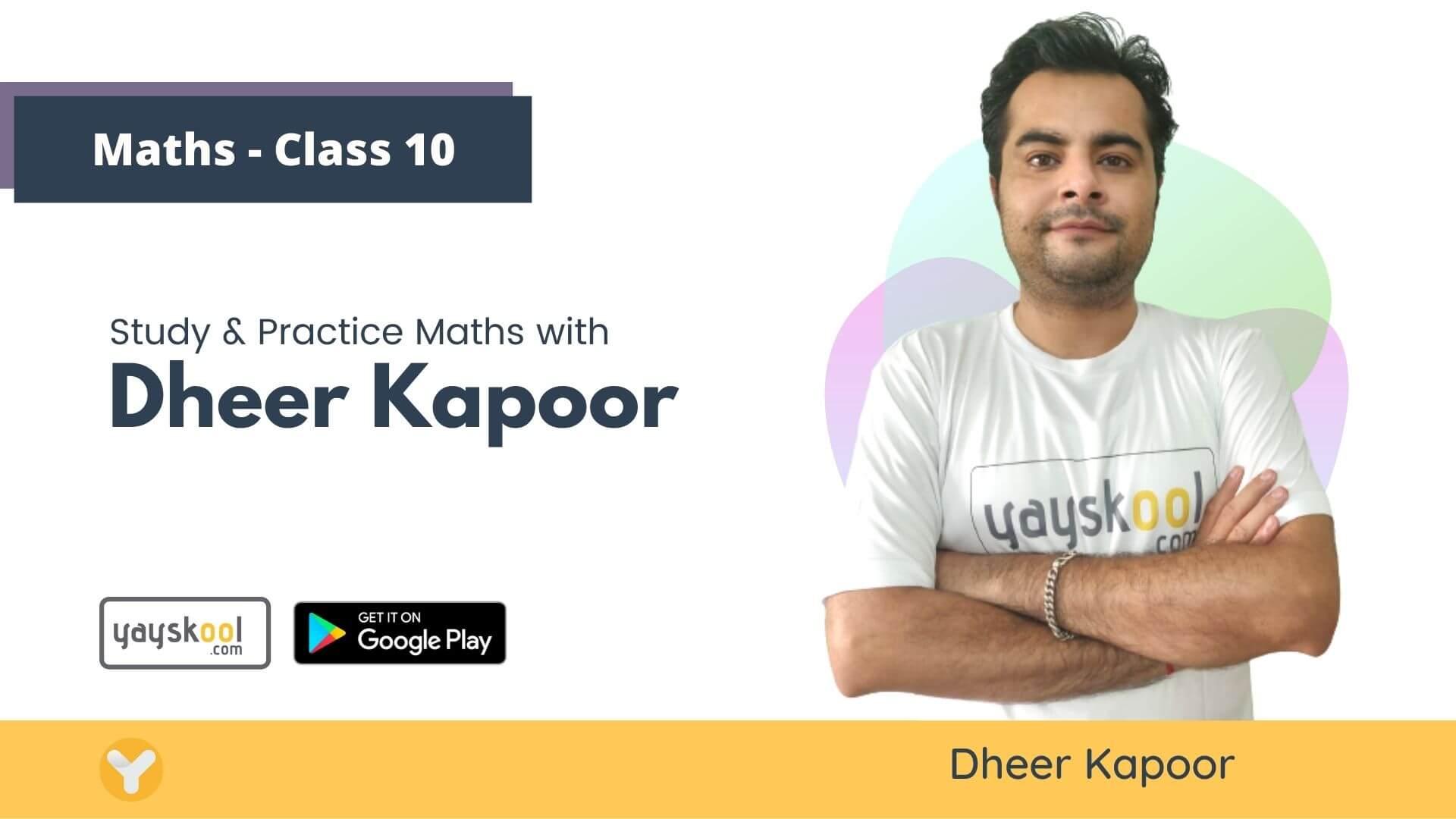 math-course-class10-dheer-kapoor