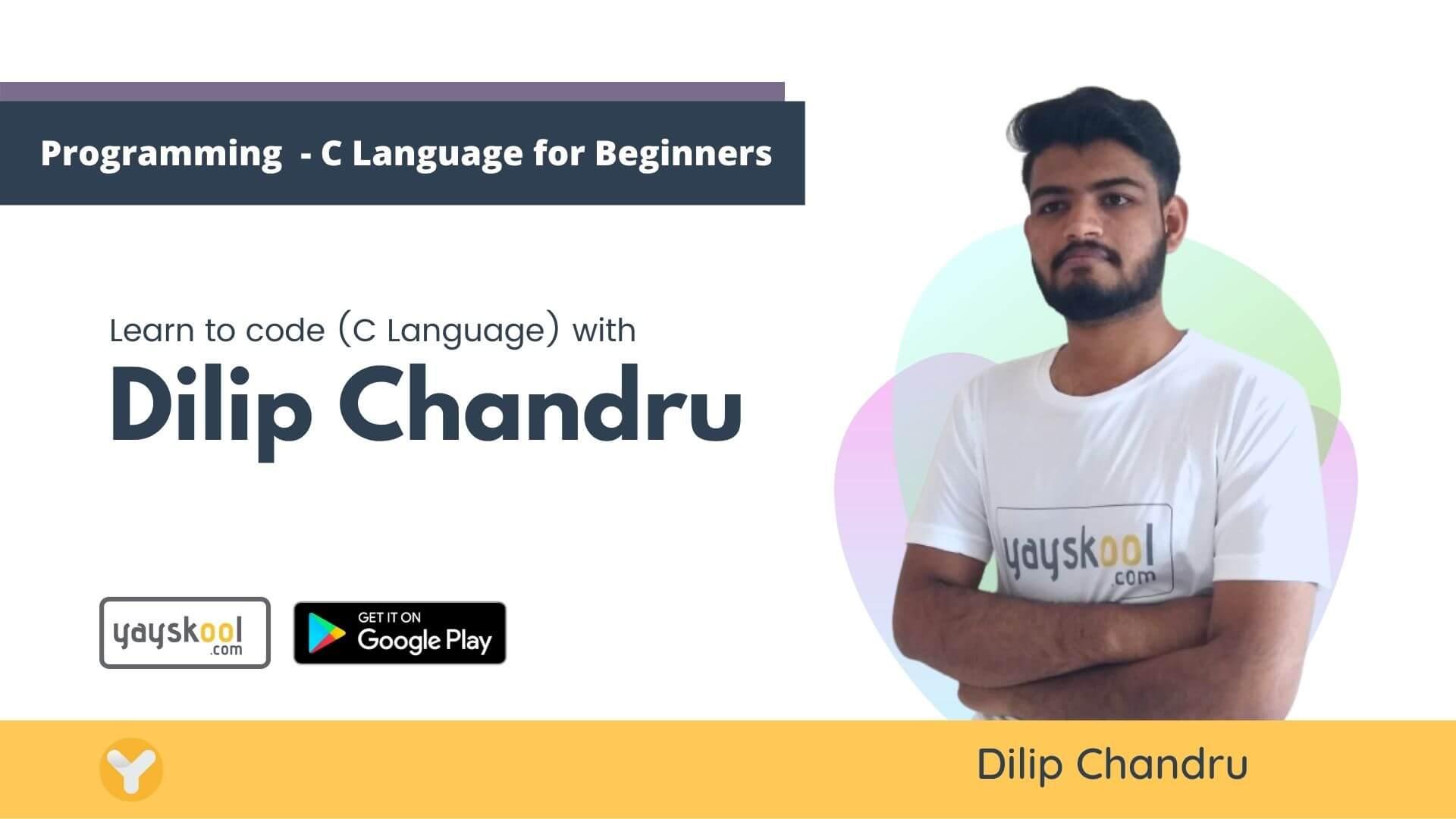 programming-c-language-course-dilip-chandru