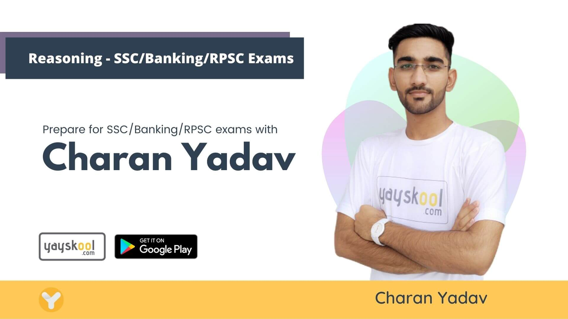 Reasoning Course -  Prepare for SSC/Banking/RPSC exams with Charan Yadav