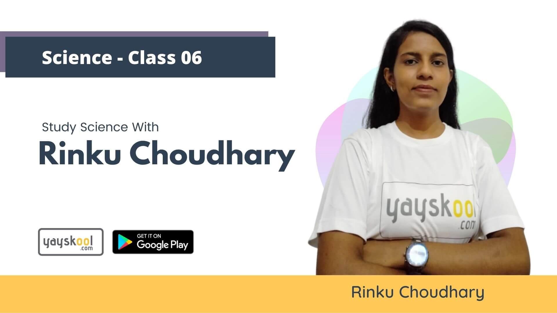 science-course-class06-rinku-choudhary